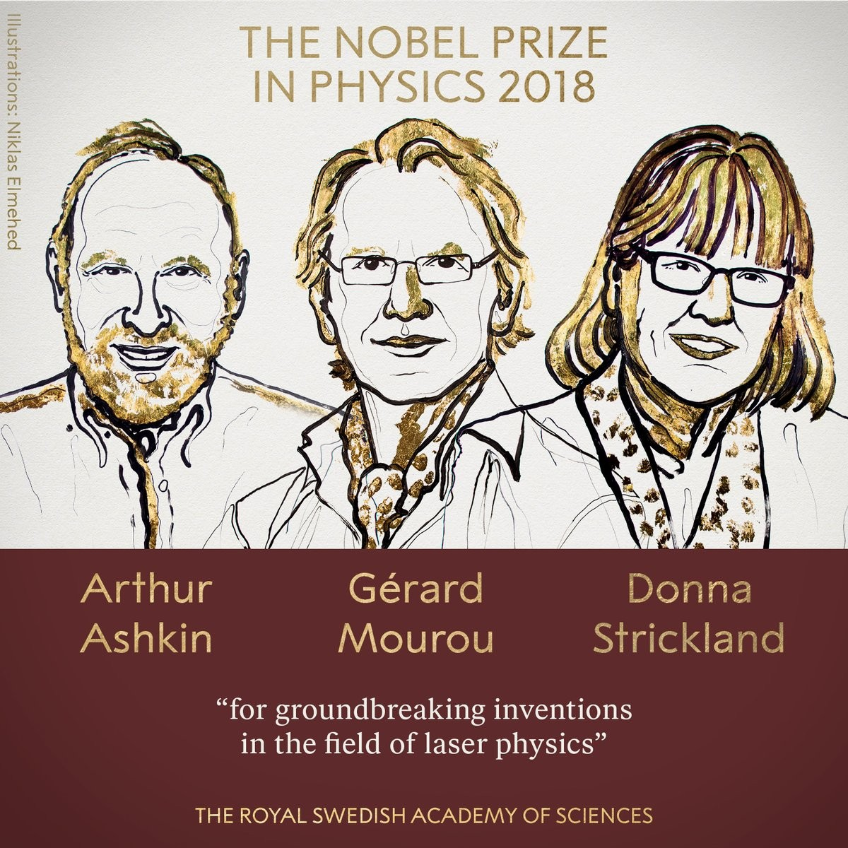 Nobel Prize in Physics 2018