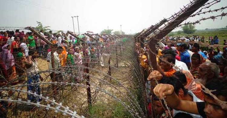 ভারতের আইনসভার নিম্নকক্ষ লোকসভায় স্থলসীমান্ত চুক্তি পাস