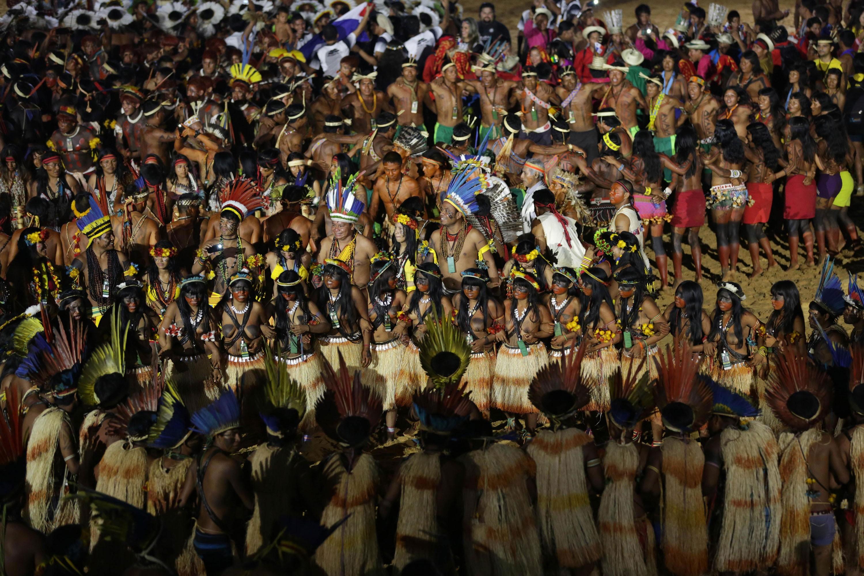 বিশ্বের প্রথম 'আদিবাসী অলিম্পিক' অনুষ্ঠিত