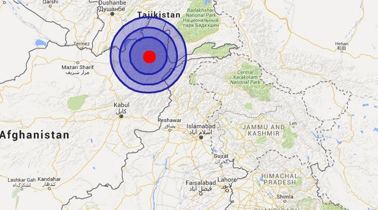 ভূমিকম্পে আফগানিস্তান ও পাকিস্তানে নিহত শতাধিক