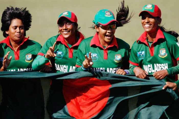 টি-টোয়েন্টি বিশ্বকাপ বাছাইপর্বে রানার্সআপ বাংলাদেশ নারী দল