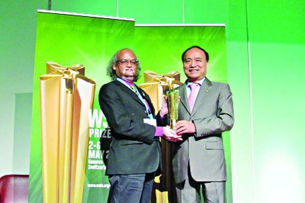 আবারও ডাব্লিউএসআইএস পুরস্কার জিতেছে বাংলাদেশ