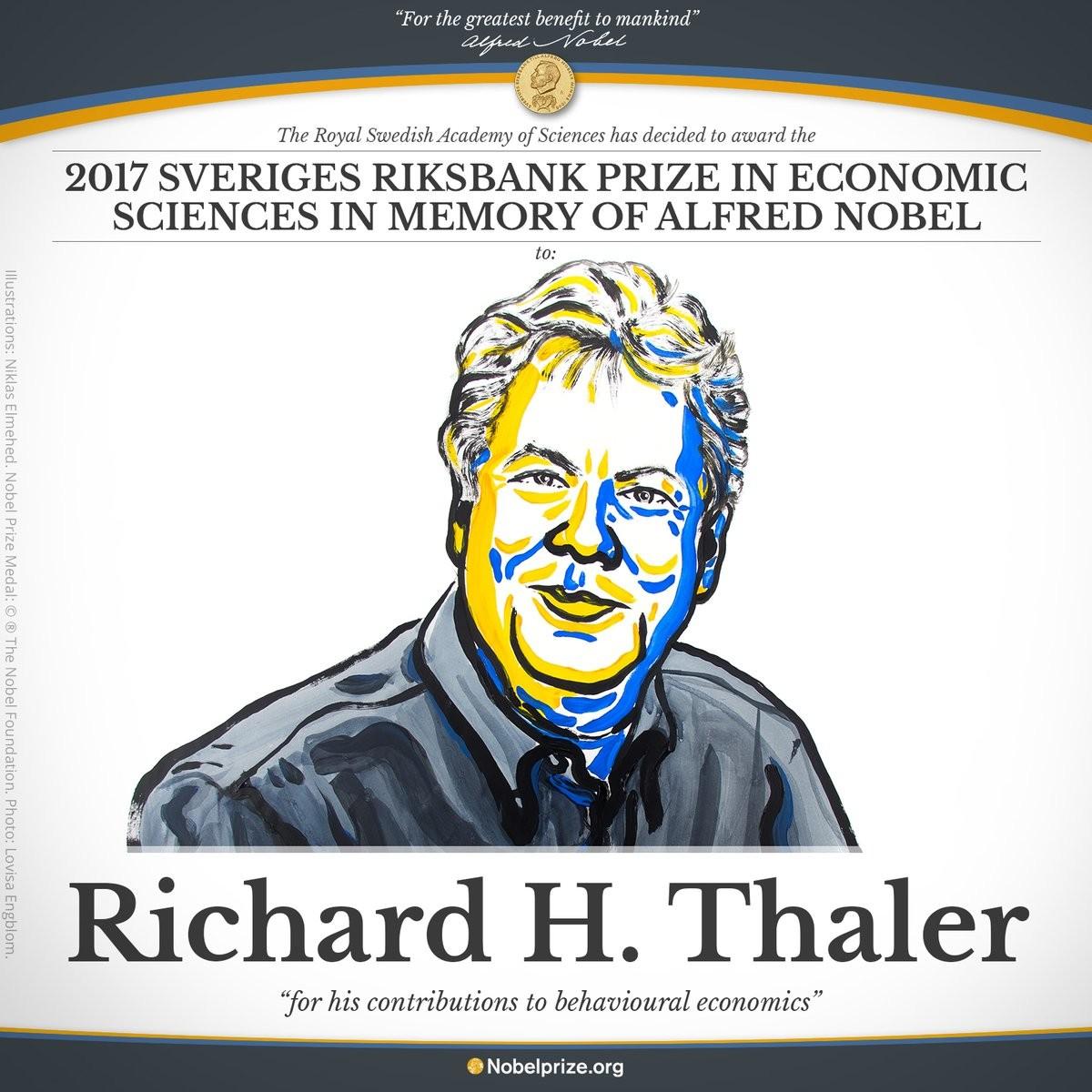 অর্থনীতিতে নোবেল পেলেন মার্কিন অর্থনীতিবিদ
