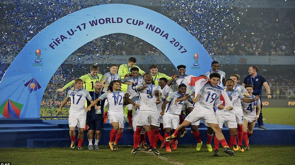 অনূর্ধ্ব-১৭ বিশ্বকাপ ফুটবলের শিরোপা জিতেছে ইংল্যান্ড