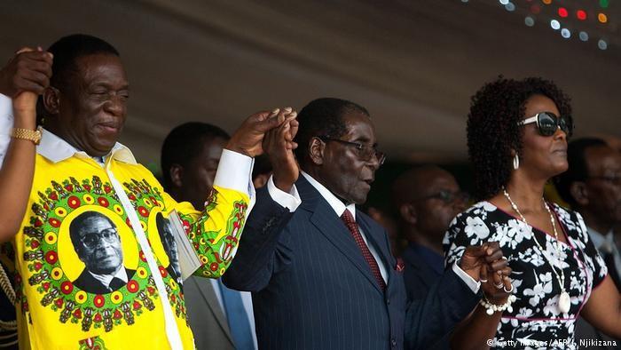 জিম্বাবুয়েতে মুগাবের পতন এবং নতুন রাষ্ট্রপতি নানগাগওয়া