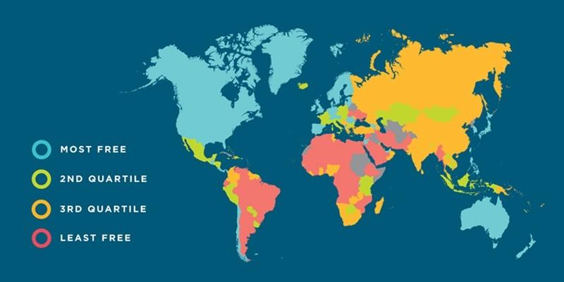 অর্থনৈতিক স্বাধীনতা সূচকে বাংলাদেশের অবস্থান ১২৮তম