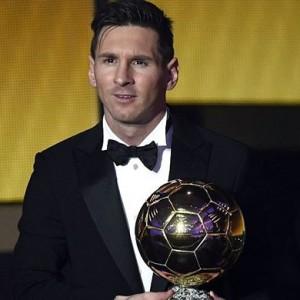 ২০১৫ সালের FIFA ব্যালন ডি'অর জিতেছেন লিওনেল মেসি