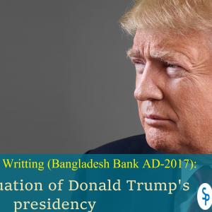 Focus Writing: Evaluation of Trump's presidency